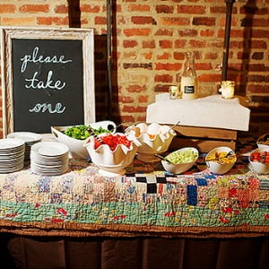 Nashville Catering Stations - Davis Wedding