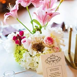 Houston Station Nashville TN Wedding Menu - Kilgore Wedding