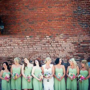 Multi-Color Bouquets: Charming Southern November 2013 Wedding
