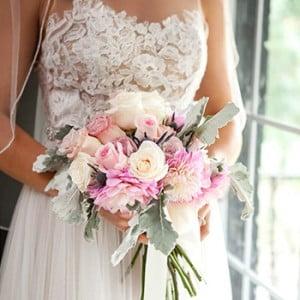 East Nashville Catering & Fall Flowers - Amanda Wedding