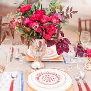 Cheekwood Wedding Table Flowers